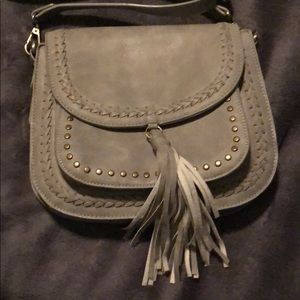 Bags - Gray crossover bag